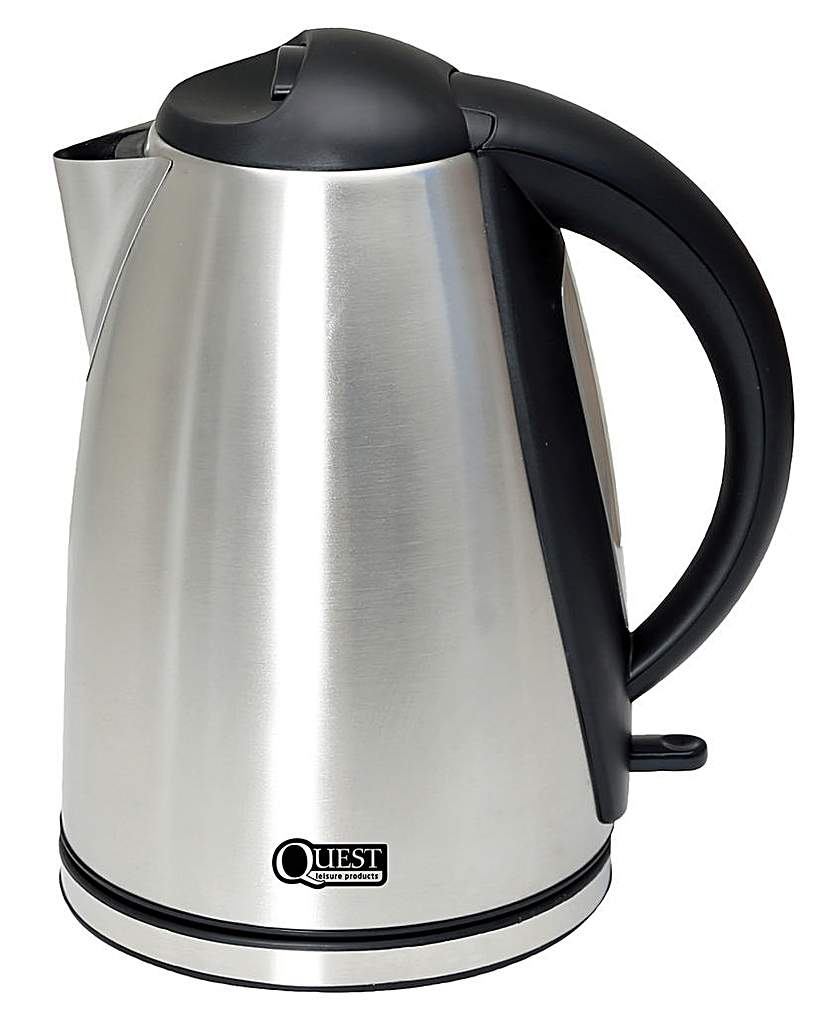 Compare prices for 1.8L Low wattage polished silver kettle