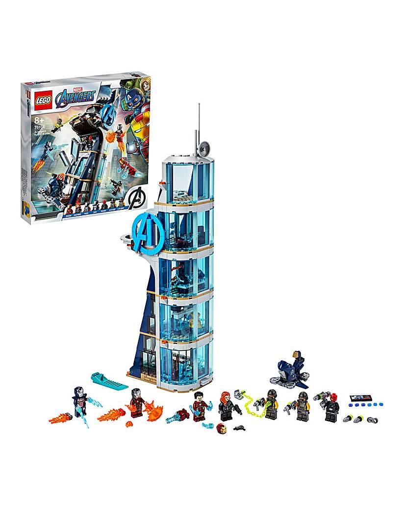 LEGO Marvel Avengers Tower Battle