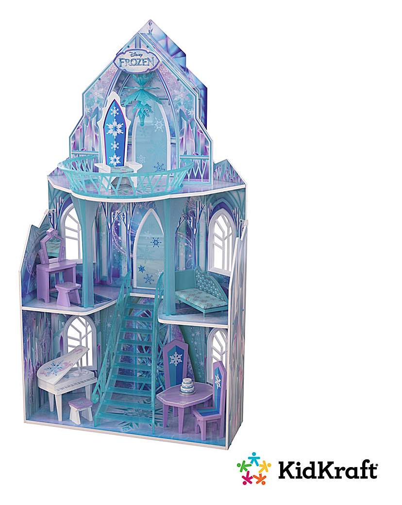 Image of Disney Frozen Ice Castle Dollhouse