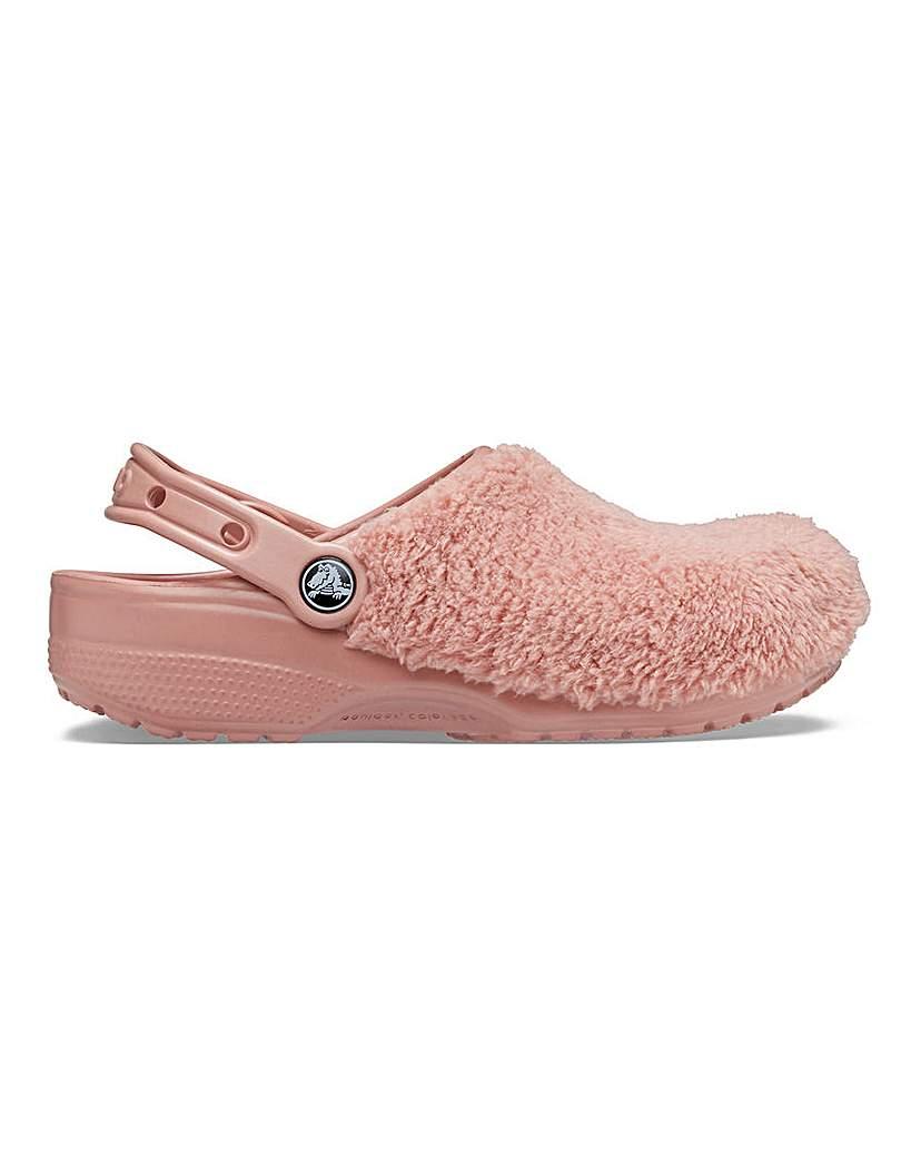 Crocs Crocs Luxe Fuzz Mania Slippers D Fit