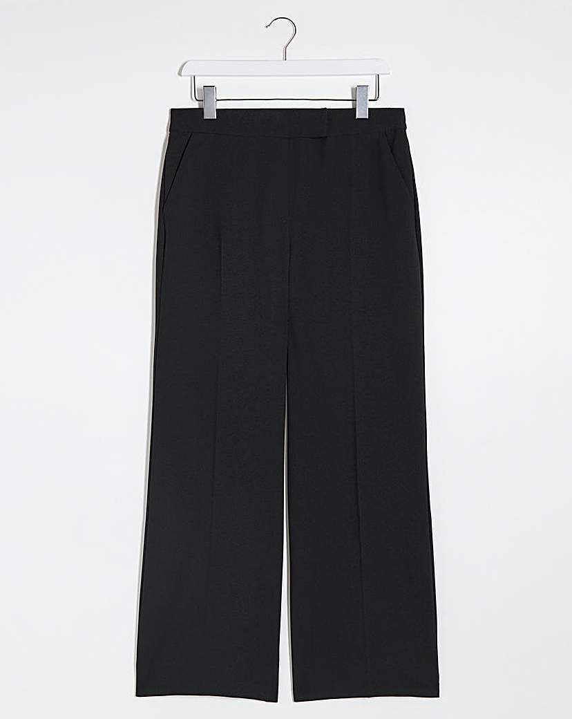Capsule Mix & Match Black Wide Leg Trousers
