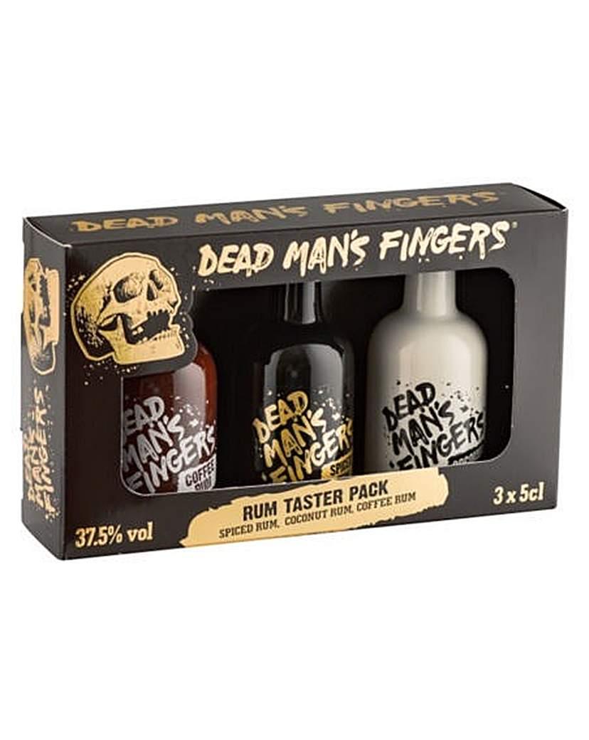 HALEWOOD Dead Mans Fingers 3 x 5cl Rum Pack