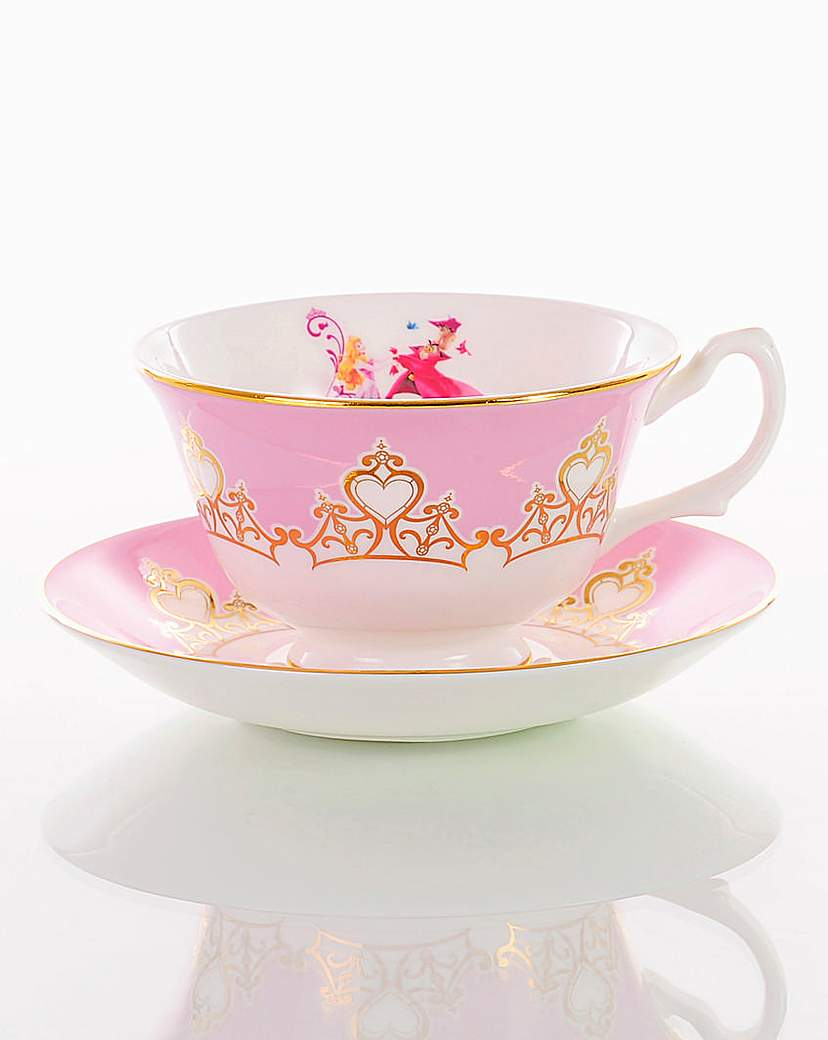 Image of Sleeping Beauty Cup and Saucer Set
