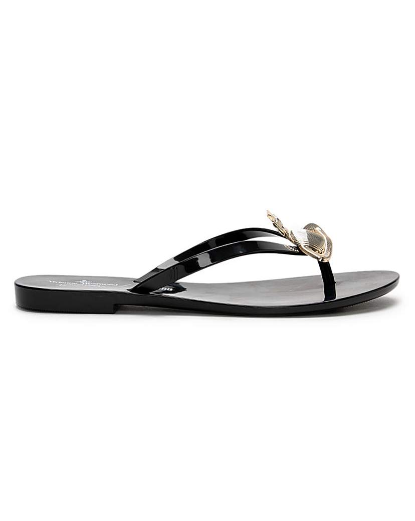 Vivienne Westwood Harmonic Flip Flops
