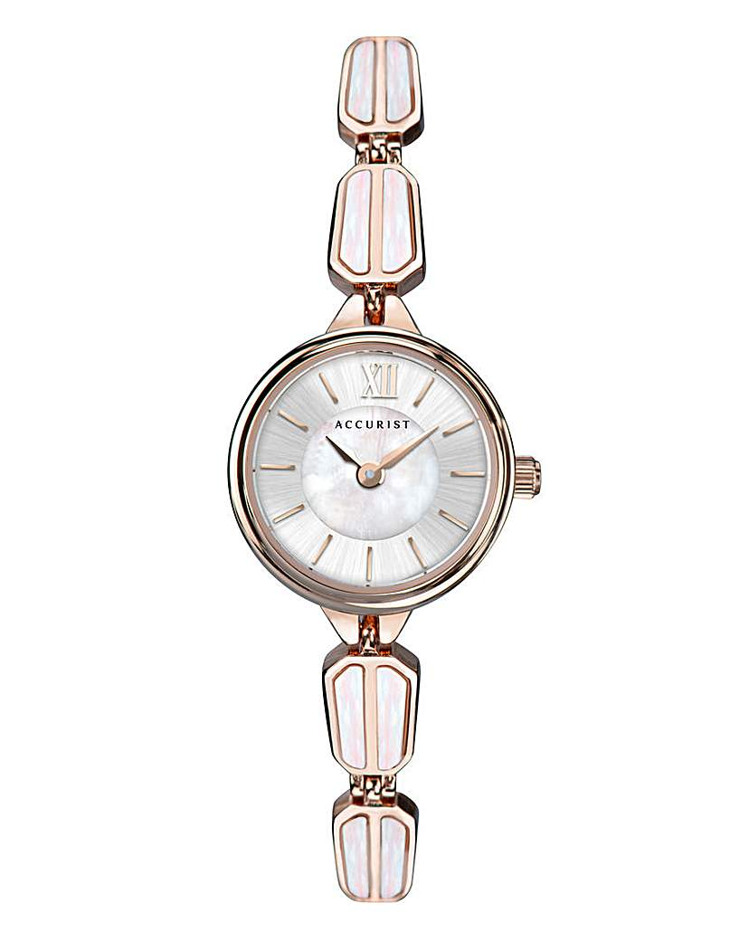 Accurist Accurist Mother Of Pearl Bangle Watch