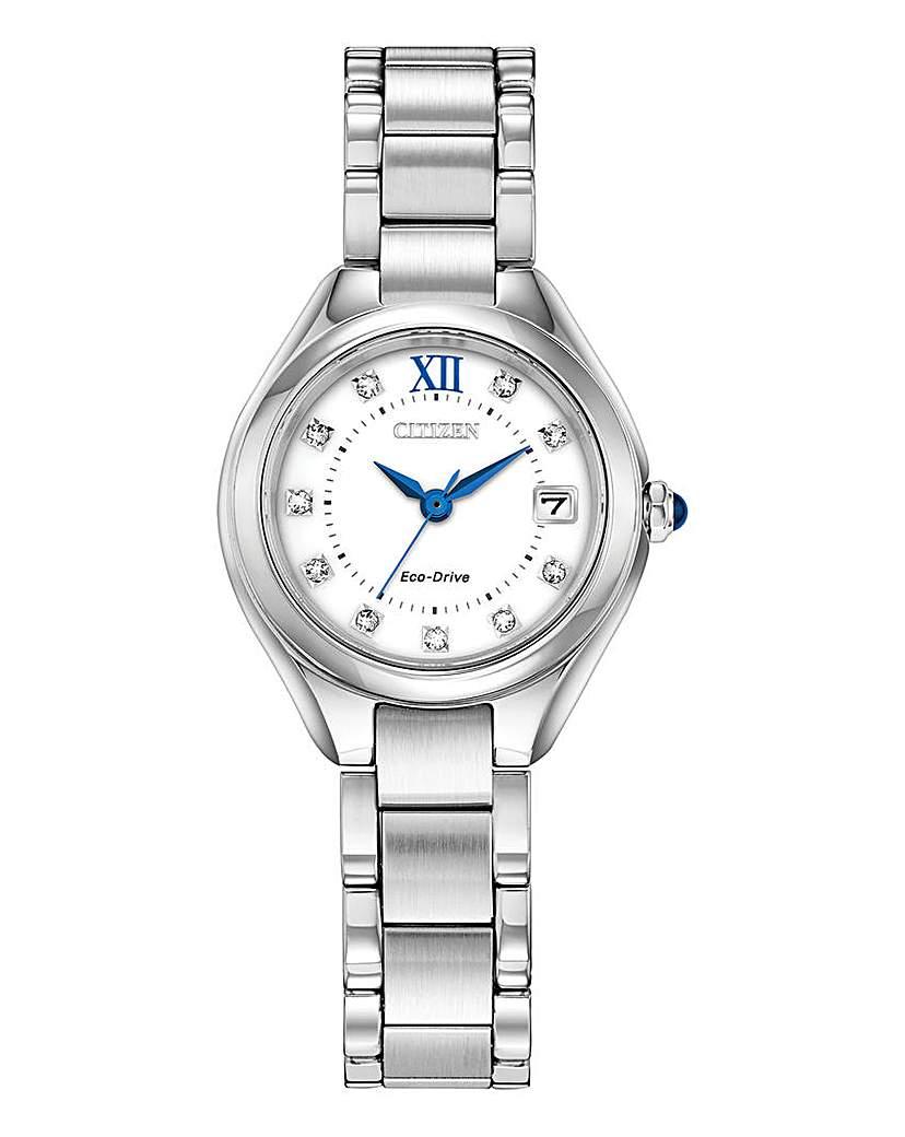 Citizen Citizen Eco Drive Crystal Bracelet Watch