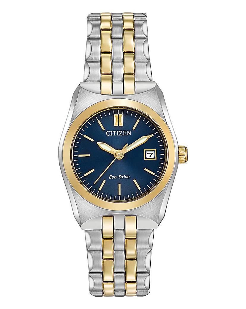 Citizen Citizen Corso Two Tone Bracelet Watch