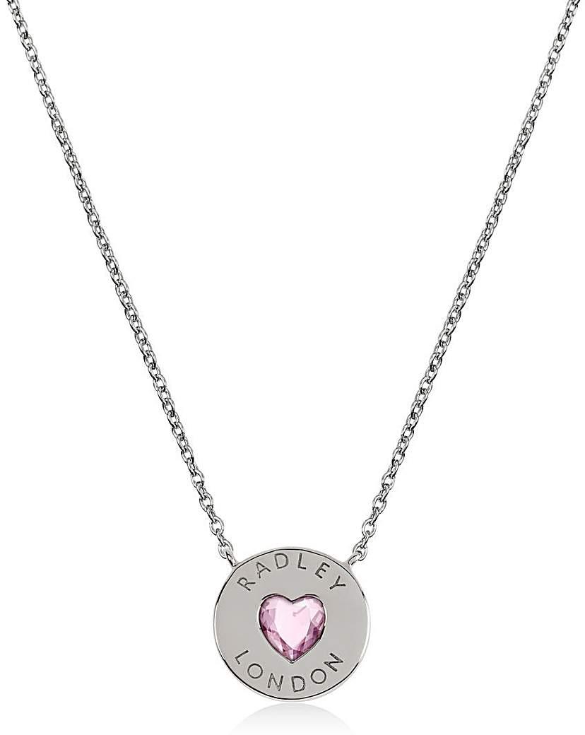 Radley Sterling Silver Heart Necklace