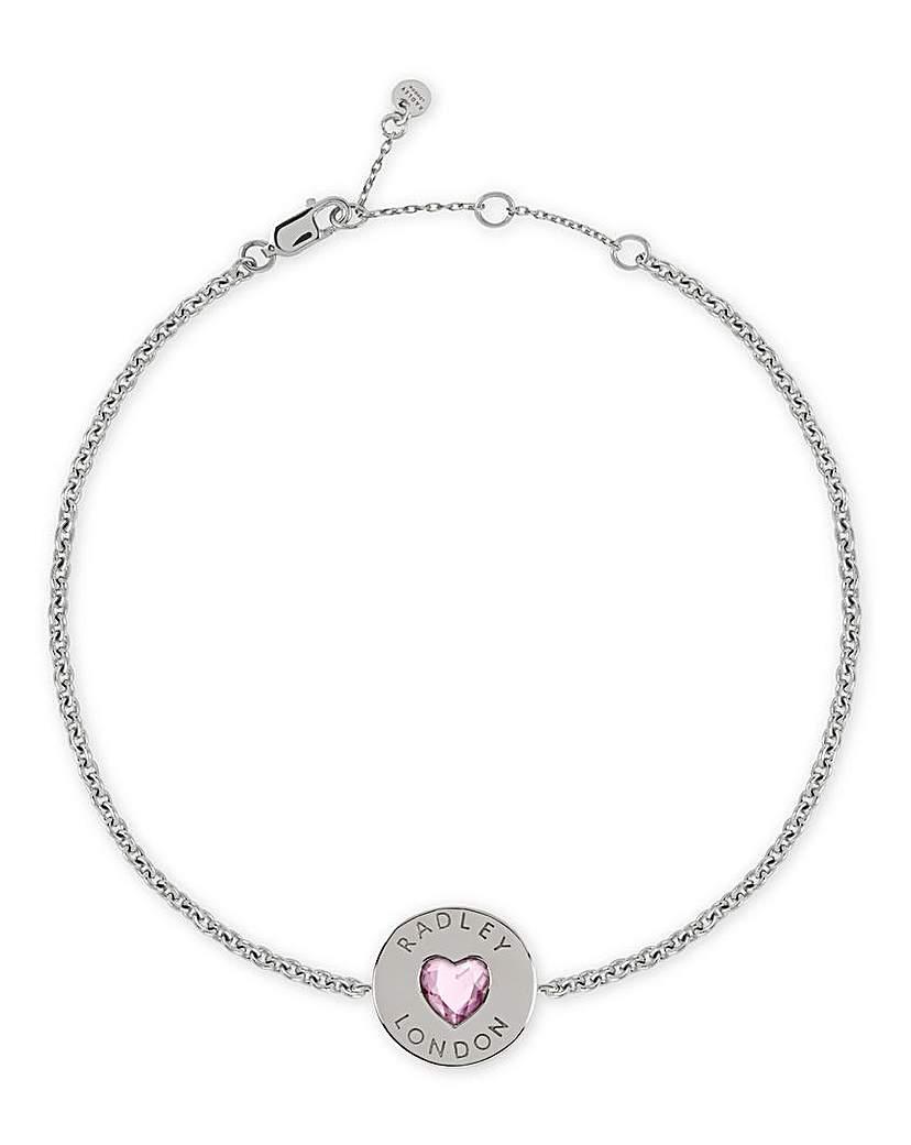 Radley Heart Sterling Silver Bracelet