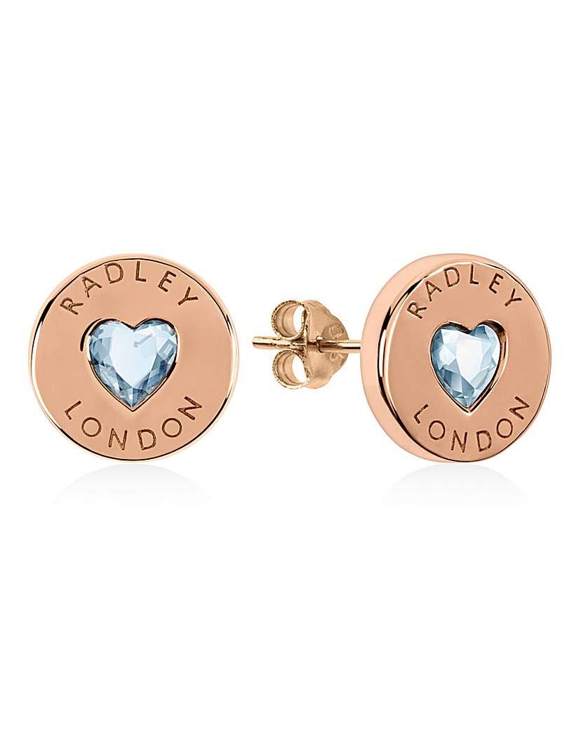 Radley Rose Gold Plated Earrings