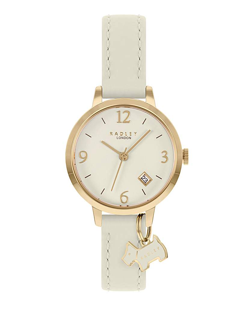 Radley Cream Leather Strap Watch