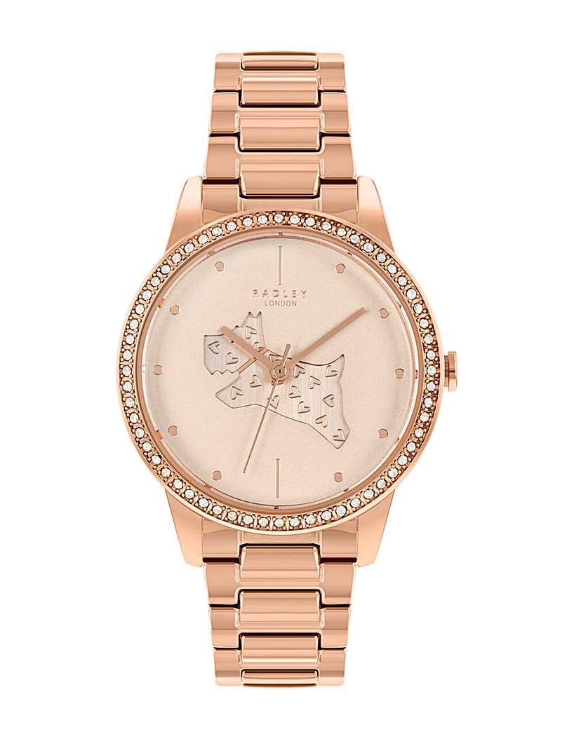 Radley Rose Gold Brass Bracelet Watch