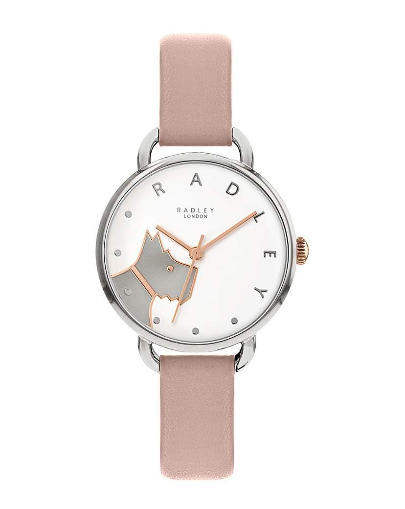 Radley Blush Leather Strap Watch