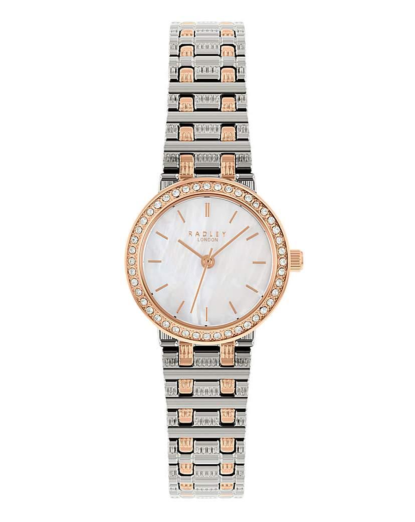 Radley Two Tone Brass Bracelet Watch
