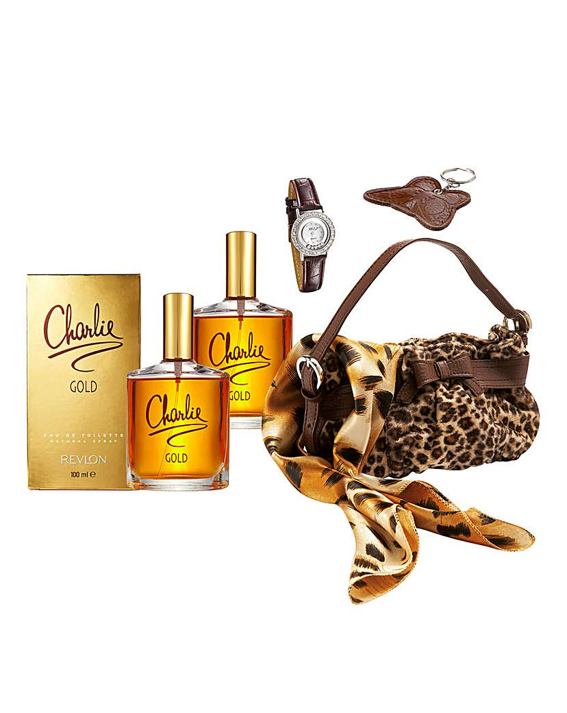 Charlie Gold 100ml EDF BOGOF & FREE Set