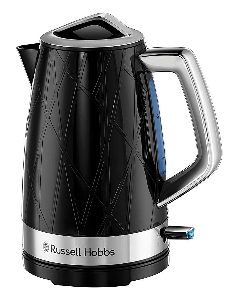 Russell Hobbs Structure Black Kettle