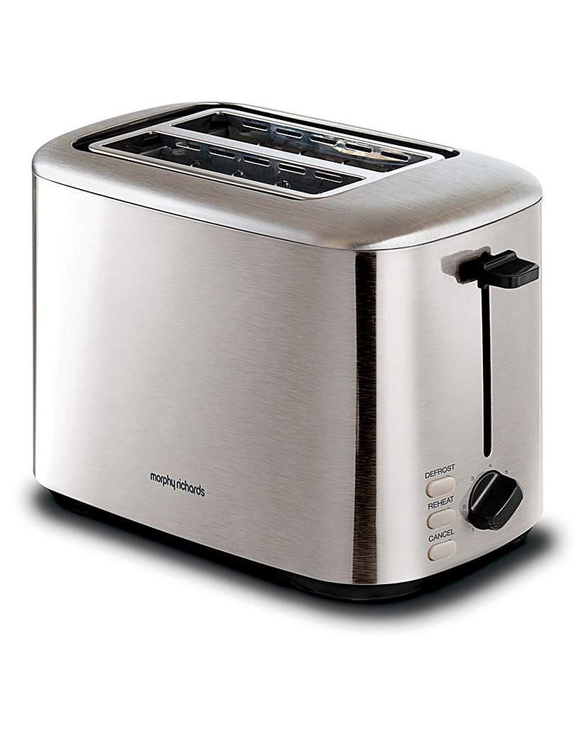 Morphy Richards Equip Brushed Toaster