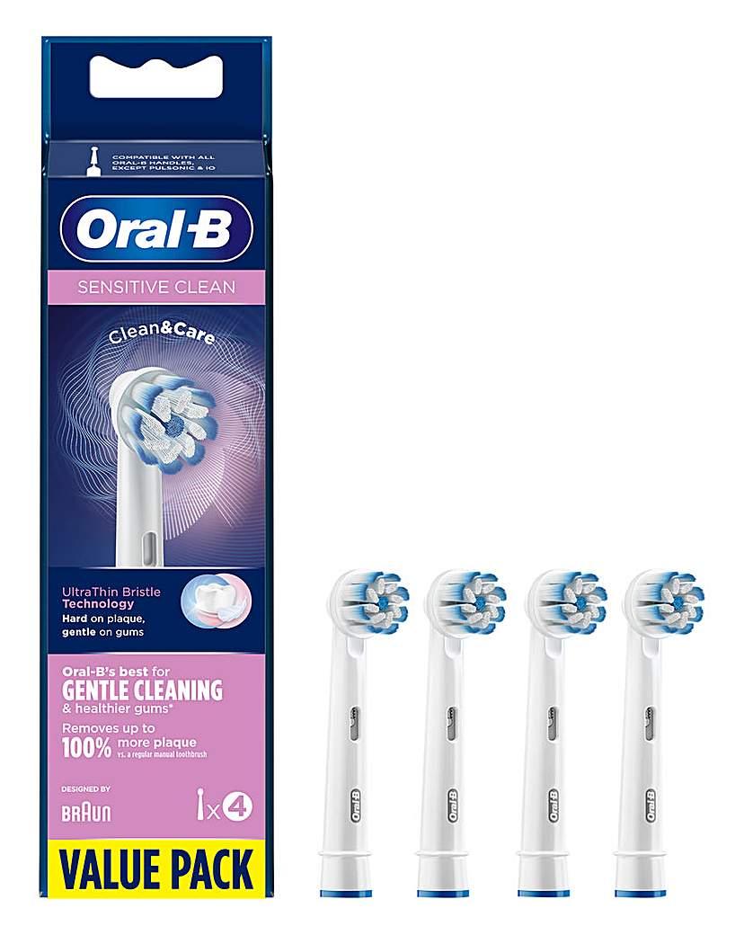 Oral-B Sensiclean 4 Toothbrush Heads