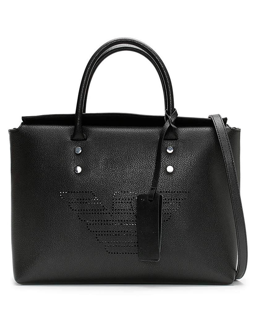 Emporio Armani Emporio Armani Recycled Leather Shopper