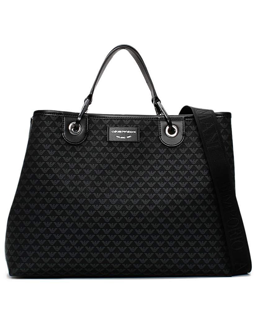 Emporio Armani Emporio Armani Large Logo Grab Bag