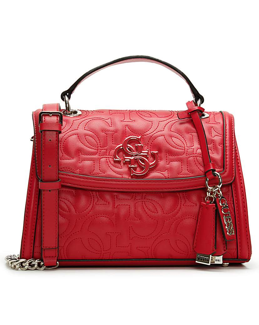 Guess Guess New Wave Top Handle Cross-Body Bag