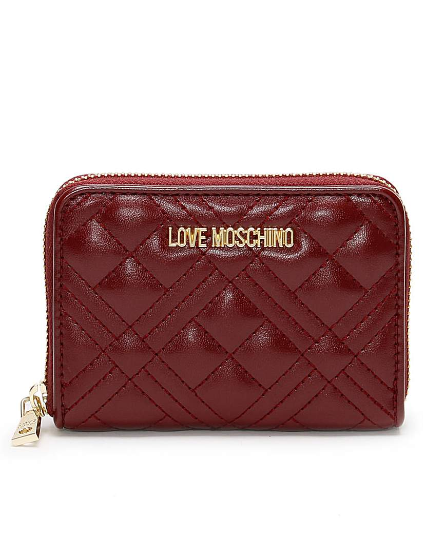 Love Moschino Love Moschino Diamond Check Coin Purse
