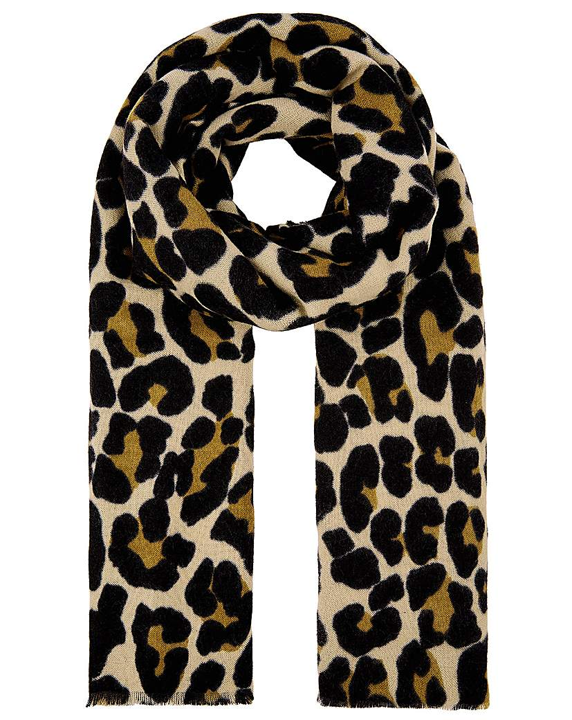 Accessorize Accessorize LUCY LEOPARD SOFT BLANKET