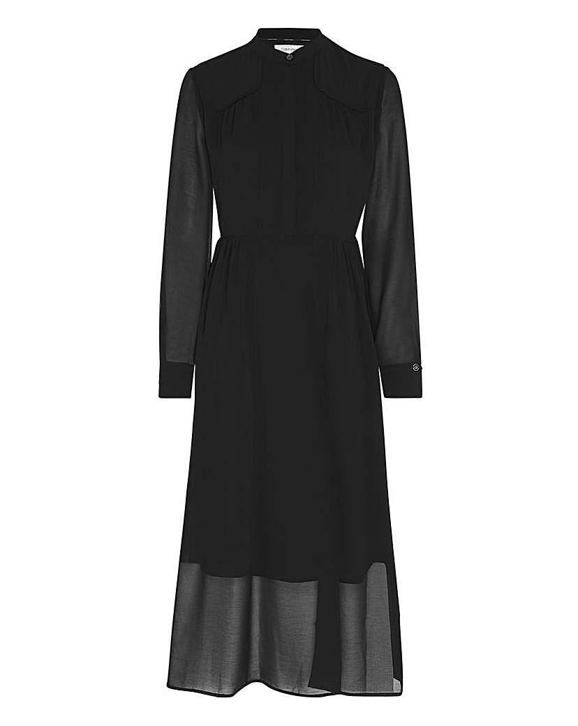 Calvin Klein Calvin Klein Button Up Maxi Dress