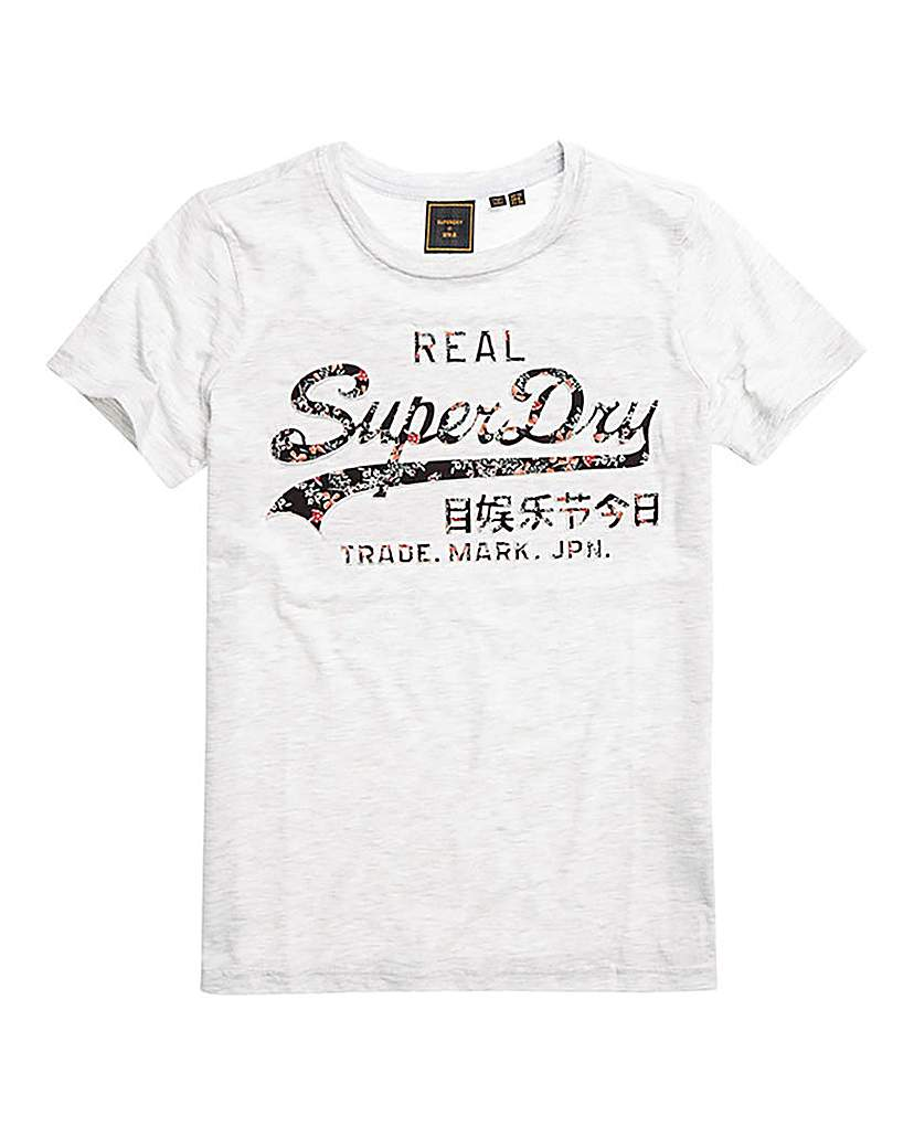 Superdry Logo Printed T-Shirt