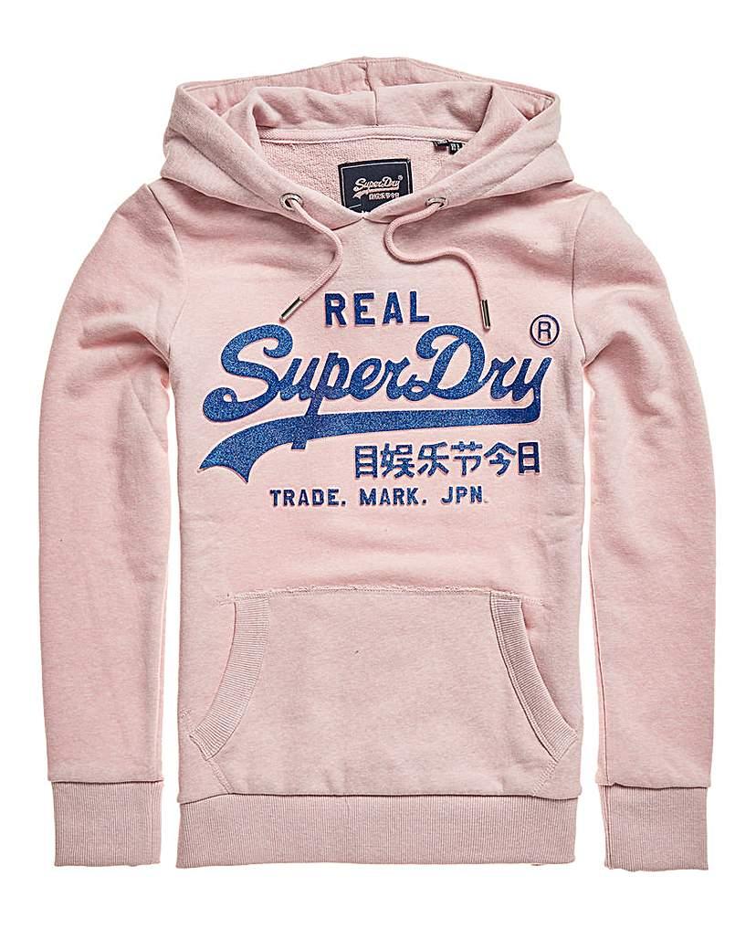 Superdry Superdry Glitter Hoodie