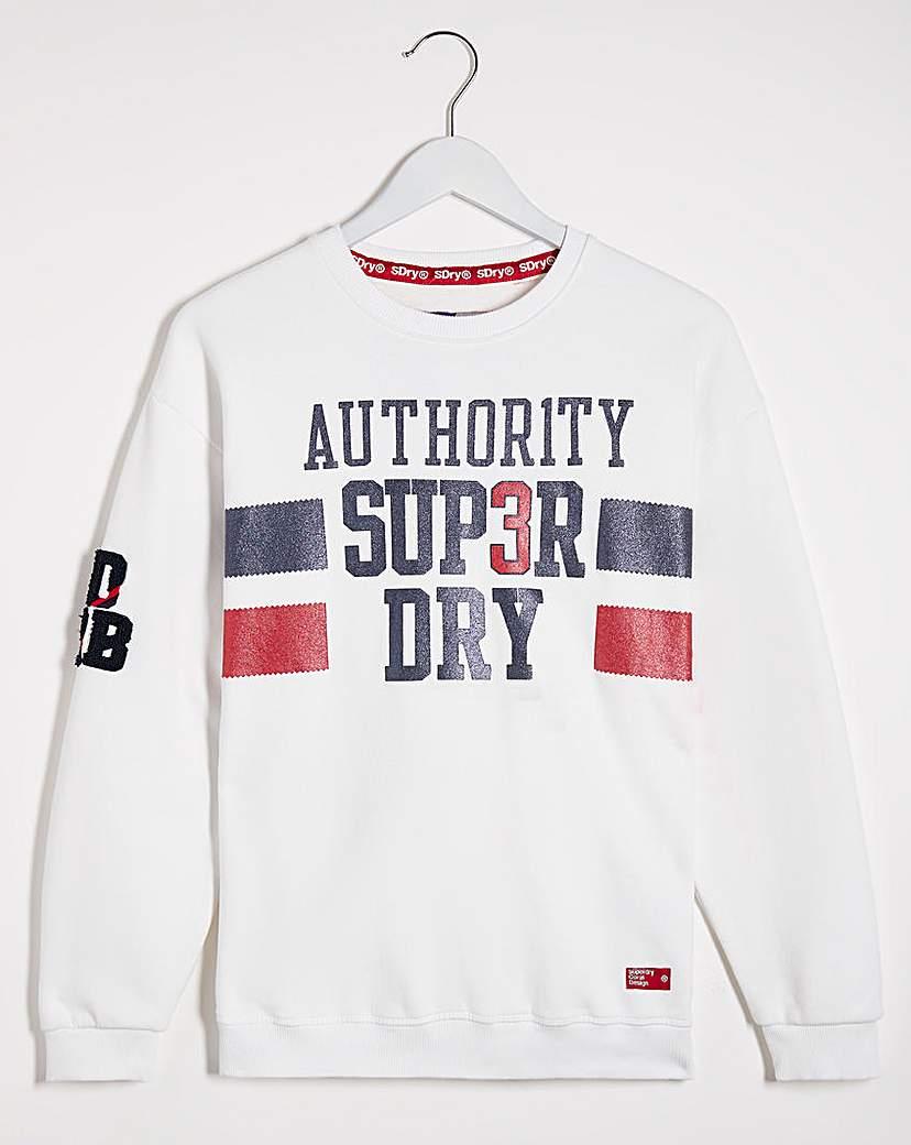 Superdry Superdry SDQB Authority Crew Sweat