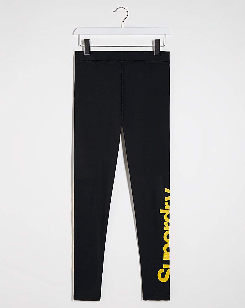 Superdry Superdry Core Logo Graphic Legging