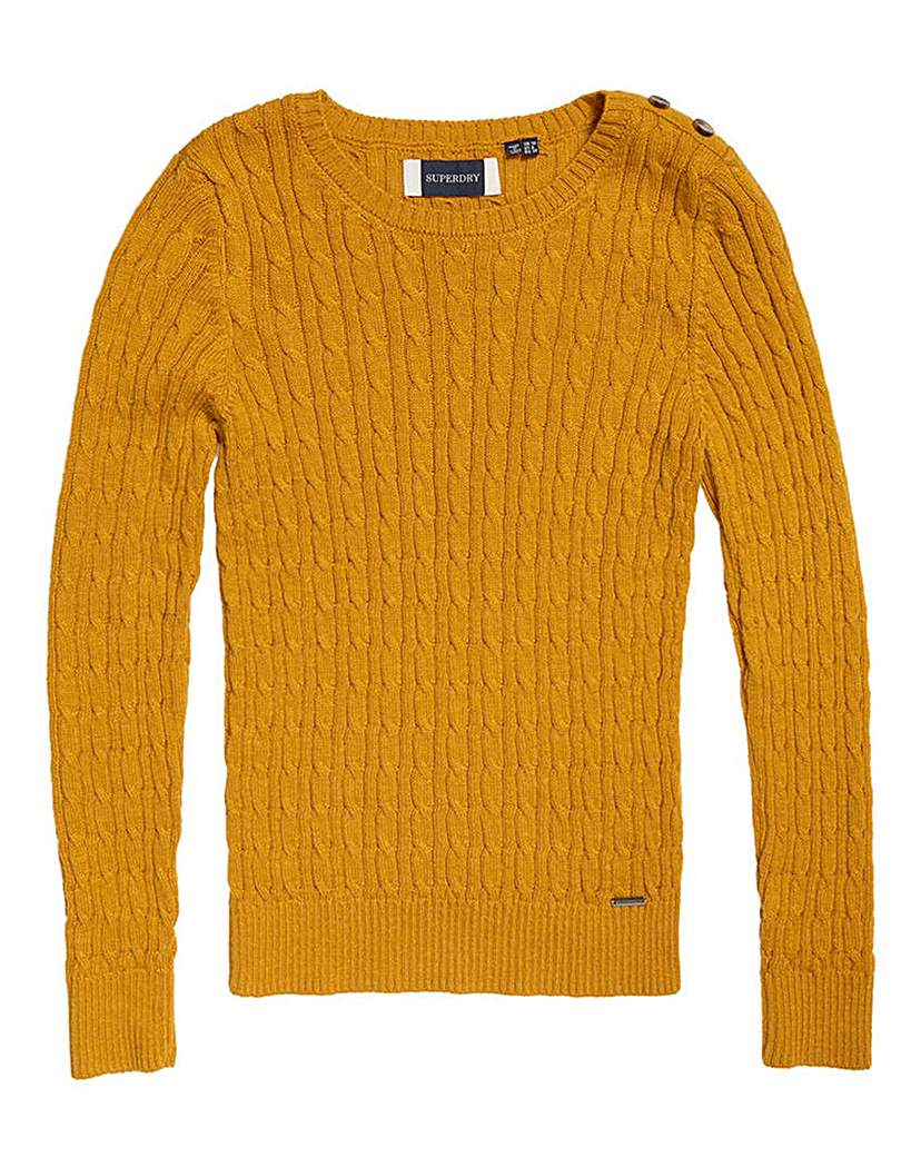 Superdry Superdry Croyde Cable Knit