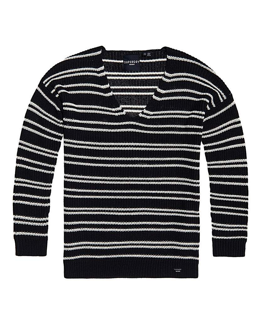 Superdry Superdry Amelia Stripe Knit