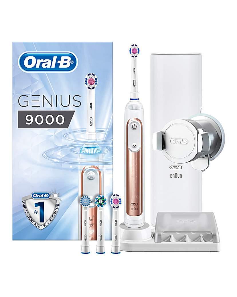 Oral B GENIUS 9000 Rose Gold Toothbrush