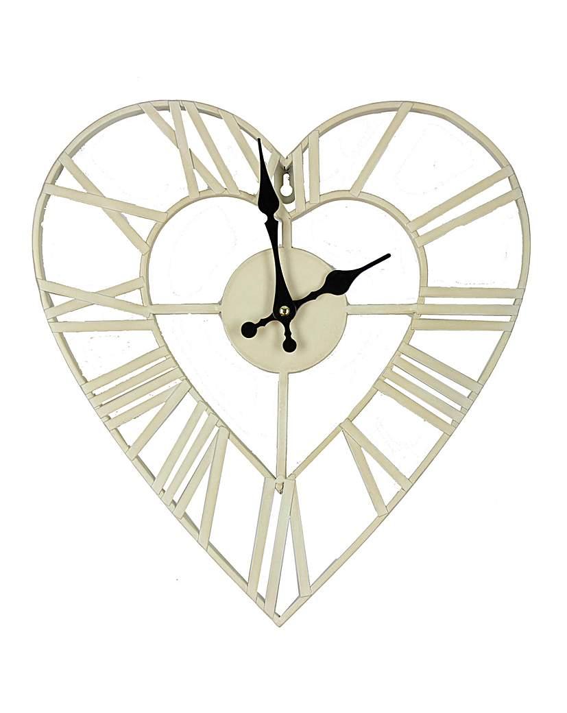 Hometime 34.5cm Metal Wall Clock