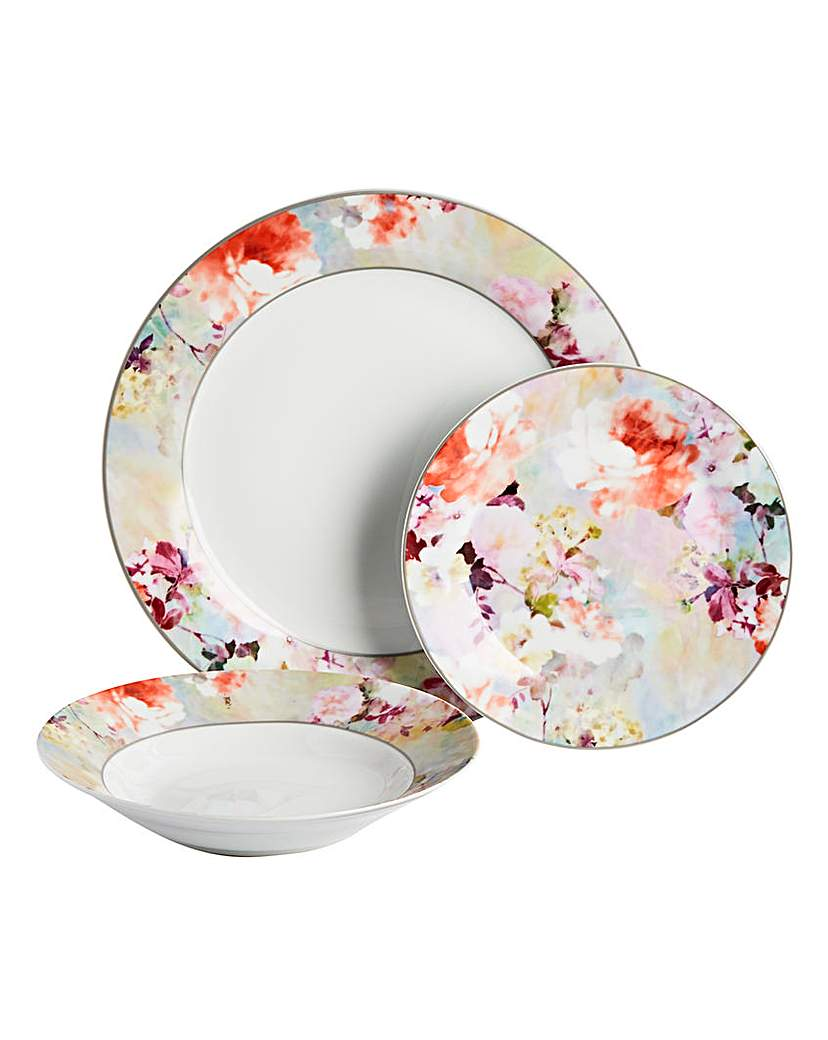 Image of 12pc Blossom Dinner Set
