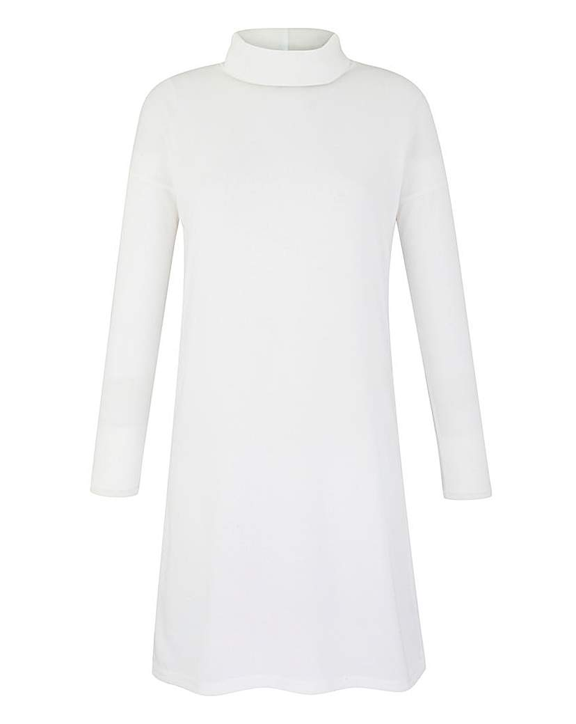 Simply Be Split Side Roll-Neck Tunic