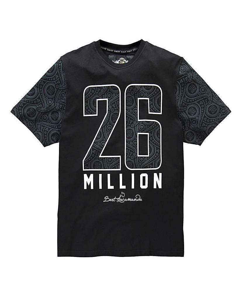 26 Million Yofi Black T-Shirt