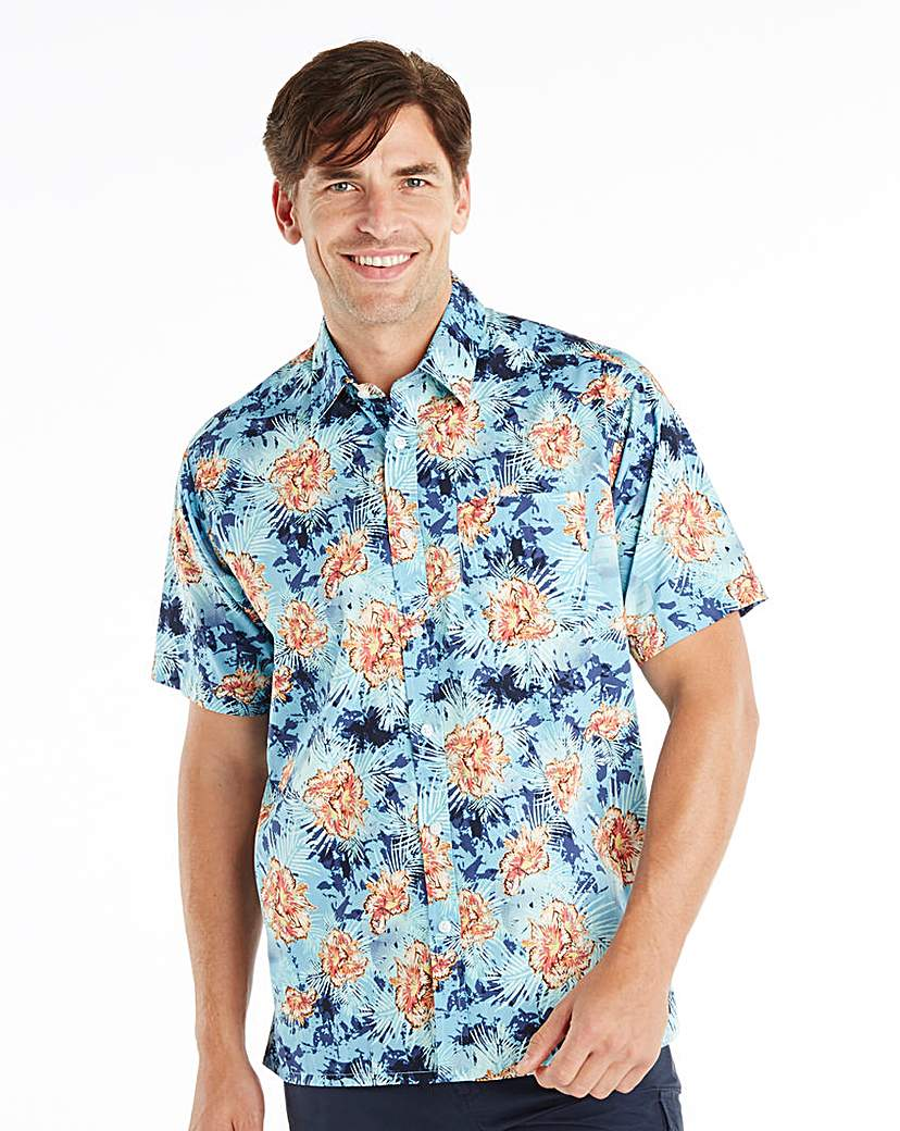 Southbay Short Sleeve Floral Shirt