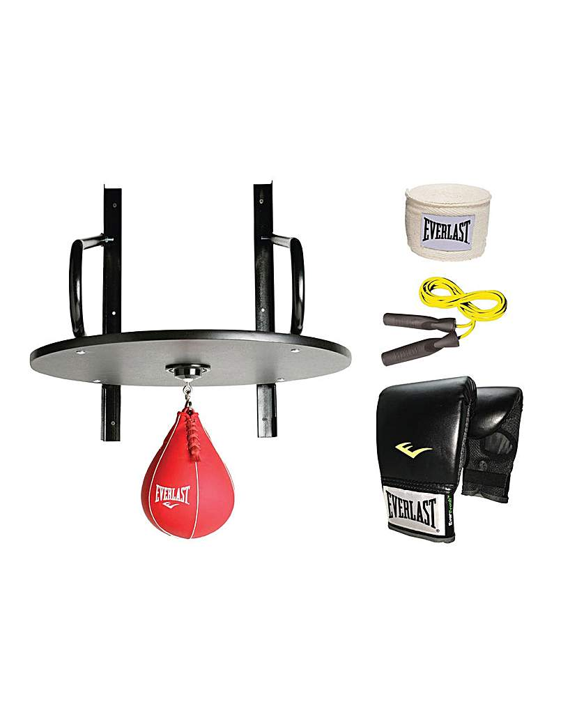 Fitness Equipment Everlast Speed Bag and Accessories