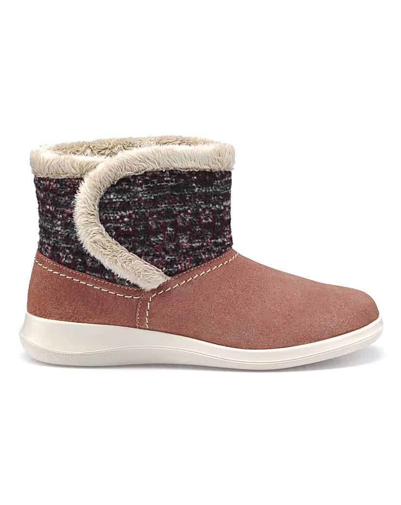 Hotter Snug Slipper Boot