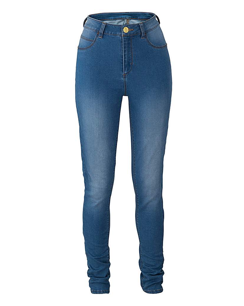 Simply Be Fly Front Jeggings Long