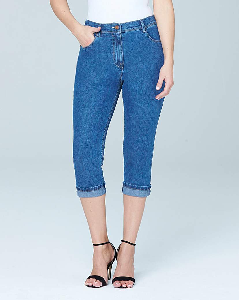 Simply Be Crop Jeans