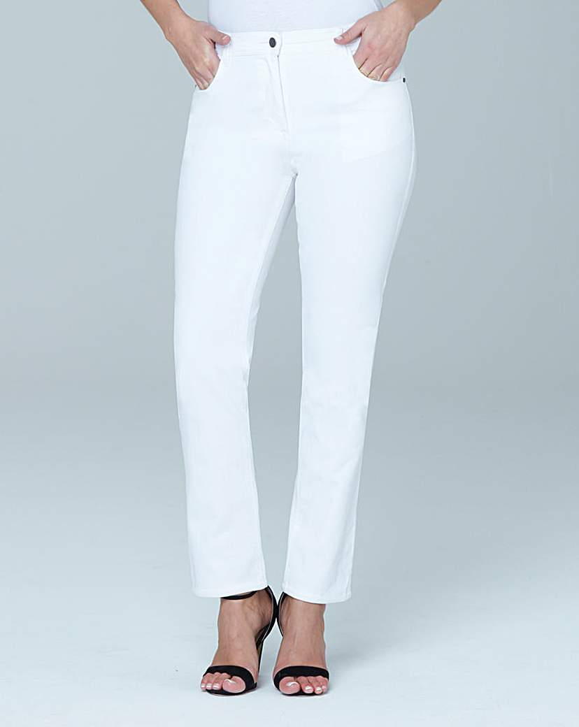 Simply Be Straight Leg Jeans Extra Long