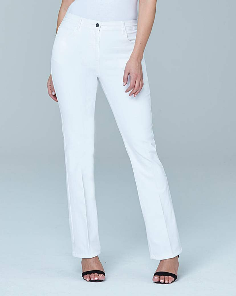 Simply Be Bootcut Jeans Extra Short