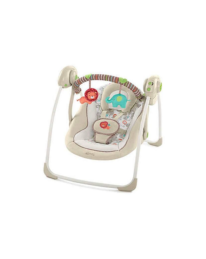 Portable Cozy Kingdom Baby Swing