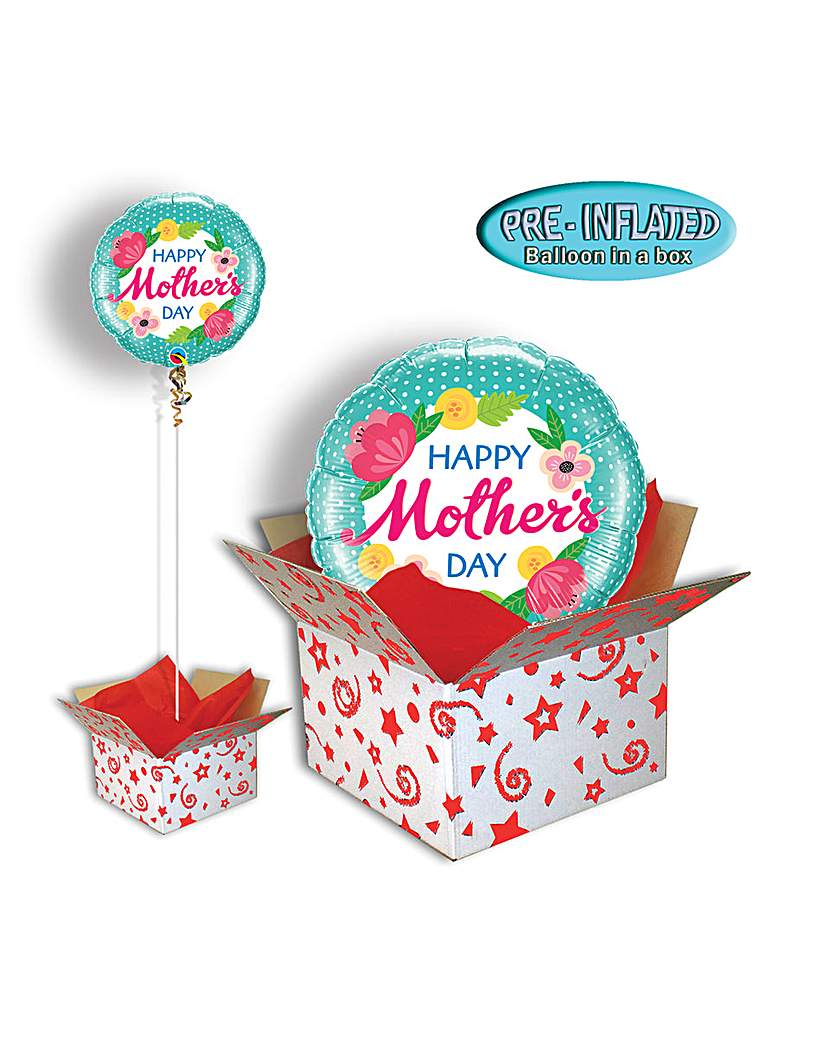 Image of Happy Mothers Day Balloon In Box