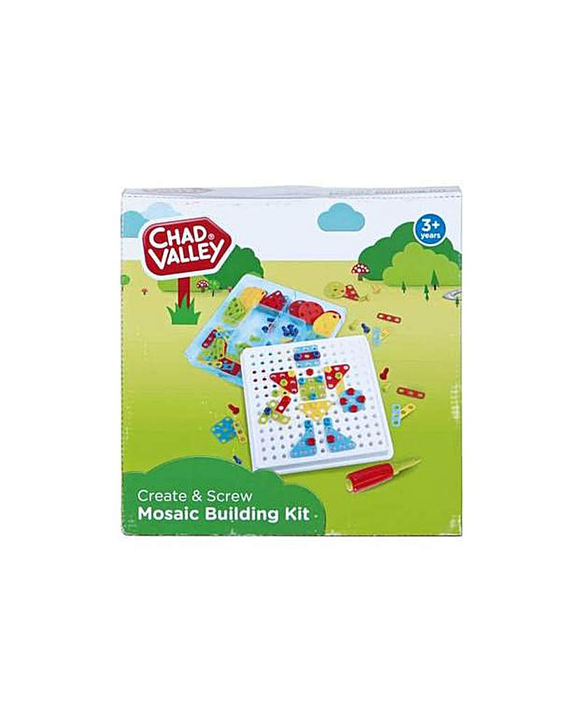 Image of Create & Screw Mosaic Building Kit