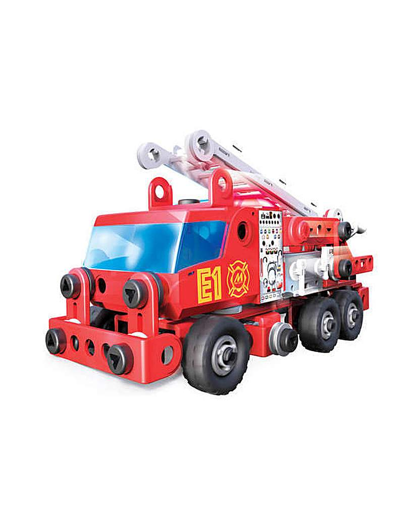 Image of Junior Rescue Fire Engine Building Set
